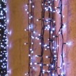 Stock Video: Christmas twinkle lights