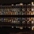 Stock Video: St. Petersburg, The Hermitage Museum at night