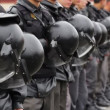 Stock Video: Riot Police with Helmets, Russia