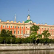 Stock Video: St. Petersburg, Mikhailovsky Palace (time-lapse in motion)