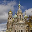 (zoom-in) St. Petersburg, Church of the Savior on the Spilled Blood — Stock Video #14819439