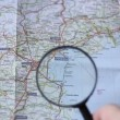 Video Stock: Finding Venezion map