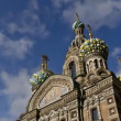 (zoom-in) St. Petersburg, Church of the Savior on the Spilled Blood — Stock Video