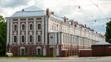 Twelve Colleges building, St. Petersburg — Vídeo Stock