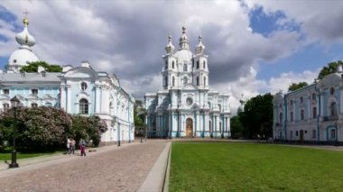 Smolny Cathedral Complex — Stock Video