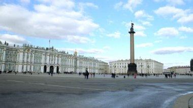 St. Petersburg, The Hermitage Museum — Stock Video