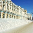Stock Video: ZOOM of Catherine Palace in Pushkin city, St. Petersburg, Russia