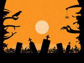 Halloween fond. — Vecteur