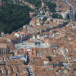 Brasov Bird eye view — Stock Photo