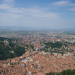 Stock Photo: Brasov Bird eye view