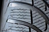 Tire detail — Stock Photo