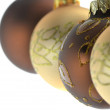 Brown and golden ornaments — Stock Photo #14266061