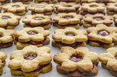 Jam cookies — Стоковое фото
