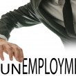 Turning word Unemployment into Employment — Stock Photo #26540703