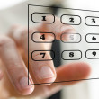 Virtual telephone keypad — Stock Photo #26807771