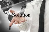 Rozwiązania biznesowe — Zdjęcie stockowe