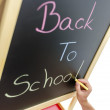 Writing Back to school — Stock Photo
