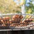 Vegetarian barbecue — Stock Photo