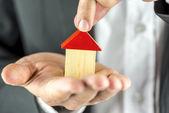 Comprar uma casa — Foto Stock