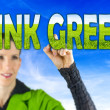 Think green — Foto de Stock