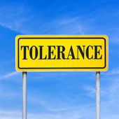 Tolerance — Stock Photo