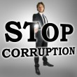 Stop corruption — Stock Photo #38072129