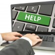 Help and online assistance — Stock Photo