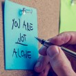 You Are Not Alone — Stock Photo #51473037