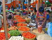 Women Workers In Guatemala Market — Stock Photo