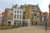 Street Scene In Dordrecht, Netherlands — Stock Photo