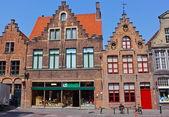 17th Century Buildings in Bruges, Belgium — Stock Photo