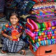 Young Girl in Guatemala Market — Stock Photo
