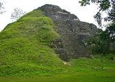 Tikal Pyramid in Guatemala — Stock Photo