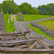 Bicyclist In Antietam National Battlefield — Stock Photo