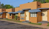 Retro Motel in Hot Springs, Arkansas — Stock Photo