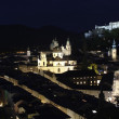 Night View of Salzburg, Austria — Stock Photo