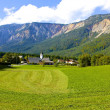 Royalty-Free Stock Photo: Village in Julian Alps