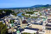 Widok na salzburg — Zdjęcie stockowe