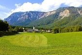 Village in Julian Alps — Stock Photo