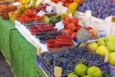 Fresh Fruit in a Market — Stock Photo