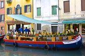 Italian Floating Market — Stock Photo