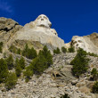 Mt. Rushmore, Washington and LIncoln — Lizenzfreies Foto