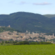 Assisi, skyline Italia — Foto Stock