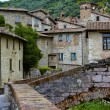Italian Picturesque, Medieval Hill Town — Stock Photo