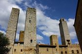 San Gimignano Towers, Italy — Stock Photo