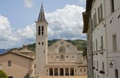 Cathedral of Santa Maria Assunta, Spoleto, Italy — Stock Photo