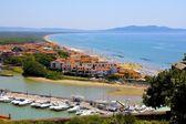 Italian Seaside Town — Stock Photo