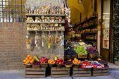 Siena Wine and Fruit Shop — Stock Photo