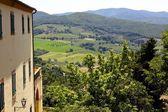 Bellissimo paesaggio toscano — Foto Stock