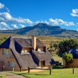 Holiday house, Drakensberg, South Africa - Stock Photo